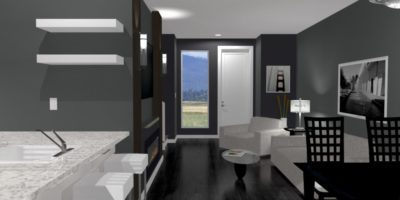 Town home rendering
